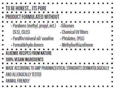 Alkemie produkt information