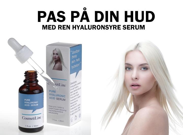 CosmetiLine Hyaluronsyre Serum