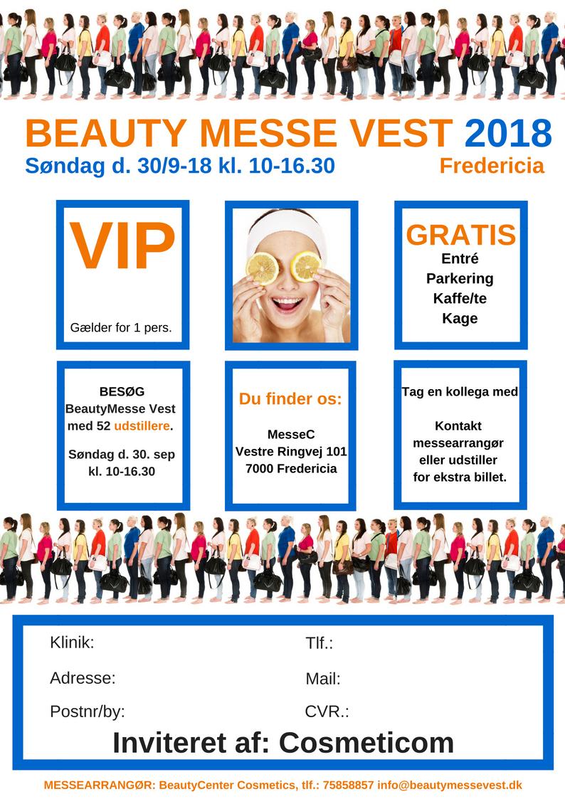 Beauty Messe Vest Billet