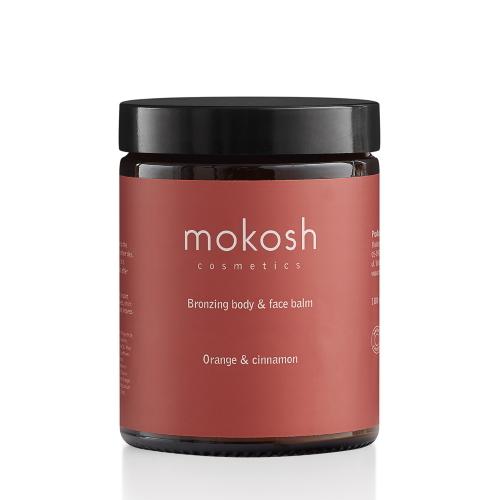 Mokosh Bronzing Body Face Balm Orange & Cinnamon